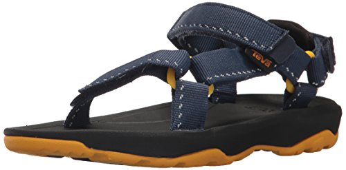 Teva Boys' K Hurricane XLT 2 Sport Sandal, Speck Navy, 12 M US Little Kid (Kids Blue Tide Apparel)