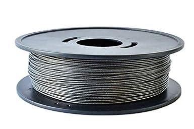 1000 1,75mm /1.75/mm o 2.85/mm Made in francia /PLA nero metallizzato 0.75/kg/ Noir m/étalis/é 3d Filamento arianeplast/