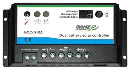 CBC GCC-D10A 10 Amp Dual Charge Controller