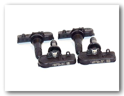 Set of 4 Genuine Ford Motorcraft Tire Pressure Sensors TPMS12 DE8T-1A180-AA ()