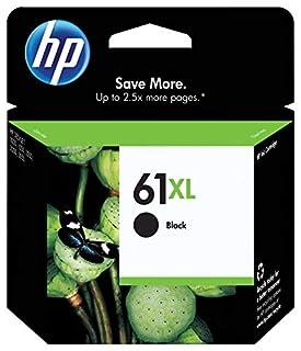 HP 61XL Black Ink Cartridge Black (CH563WN) for HP Deskjet 1000 1010 1012 1050 1051 1055 1056 1510 1512 1514 1051 2050 2510 2512 2514 2540 2541 (B003UATQDO) | Amazon price tracker / tracking, Amazon price history charts, Amazon price watches, Amazon price drop alerts