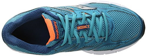 Saucony Women's Cohesion 9 Laufschuh Blau / Orange