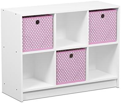 Furinno 99940WH LPI Bookcase Storage