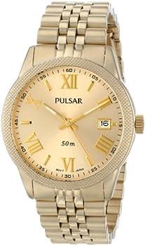 Pulsar Japanese Quartz Gold Women's Watch