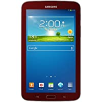 Samsung Galaxy Tab 3 Garnet Red Tablet Bundle (7-Inch, 8 GB) 2013 Model