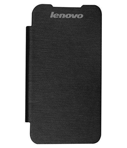on sale 2e6fd a371c Chevron Flip Cover for Lenovo A369i (Black): Amazon.in: Electronics