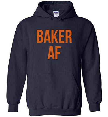 Baker Mayfield Cleverland Baker AF Hoodie for Fans Navy