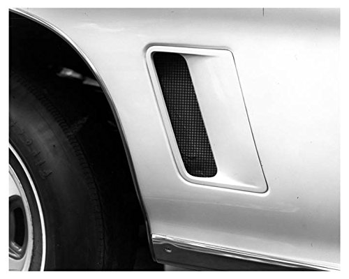 1972 Pontiac GTO Front Fender Automobile Photo Poster 1972 Fender
