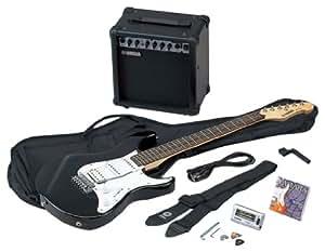 Yamaha EG 112 GP II BL - Kit de guitarra eléctrica y amplificador, color plateado