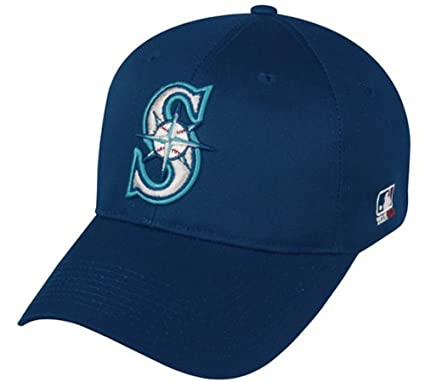 45c970f88 Amazon.com   Seattle Mariners ADULT Adjustable Hat MLB Officially Licensed  Major League Baseball Replica Ball Cap   Sports Fan Baseball Caps   Sports    ...