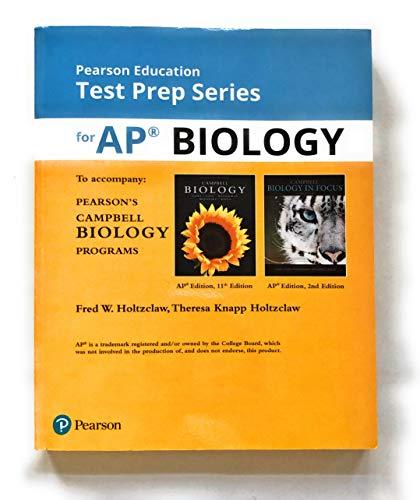Test Prep Series AP Biology for Campbell Biology Programs