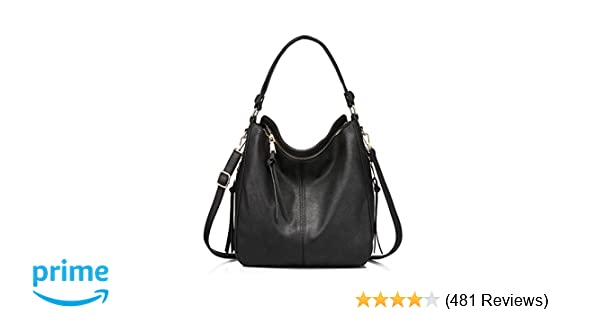 Amazon.com  Handbags for Women Small Designer Ladies Hobo bag Bucket Purse  Faux Leather in Small Size  Shoes 08c3a4f41d3fa