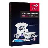 Koala 120 sheets Sublimation Paper 13X19 for Heat