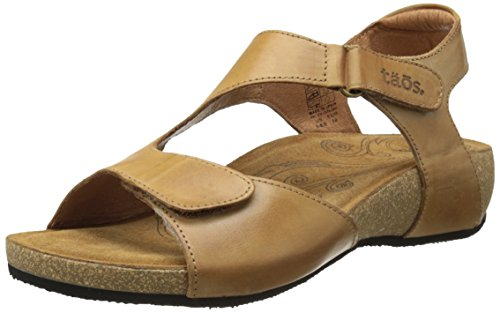 Taos Women's Rita Wedge Sandal, Tan, 41 EU/10-10.5 M US by Taos (Image #1)
