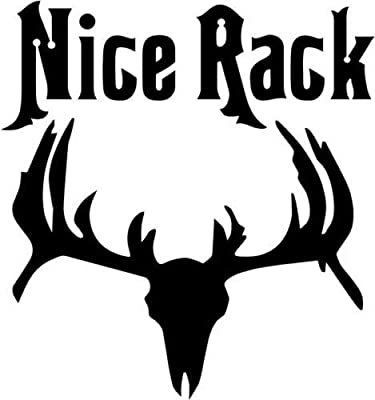 Tagout Deer Hunting Car Truck Window Decor Vinyl Decal Sticker