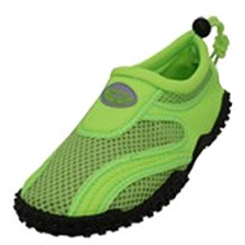Londa Delle Donne Scarpe Da Acqua Piscina Spiaggia Aqua Calze, Yoga, Esercizio Al Neon Verde