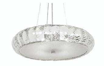 Oaks Lighting Dallas - Lámpara de techo de cristal (40 cm)