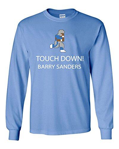 The Silo LONG SLEEVE CAROLINA Barry Sanders Tecmo Bowl