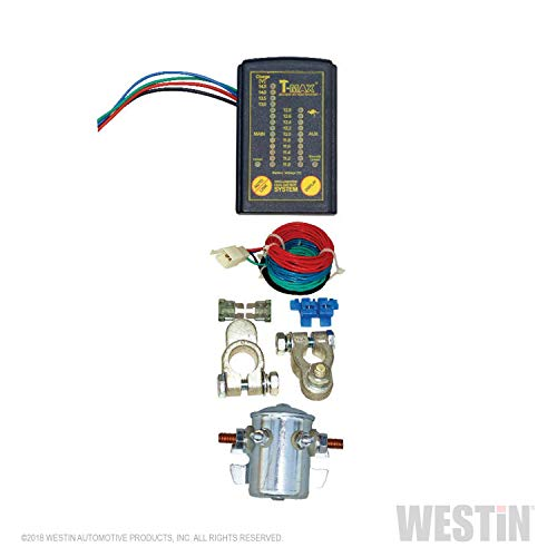 Westin 47-3800 Dual Battery System (Monitor Pro Max Battery)