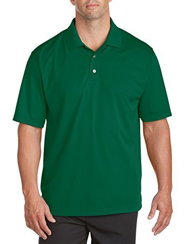 - Reebok Big and Tall Golf Play Dry Solid Polo (2XL, Jade Stone)