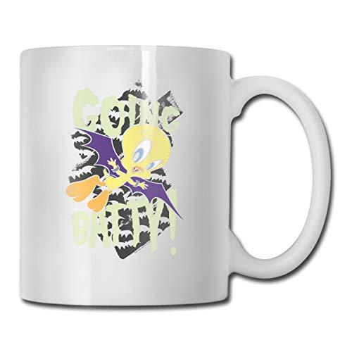 Honchosfx Looney Tunes Coffee Mug White One Size Comfortable Cups Travel Mug for Men & Women