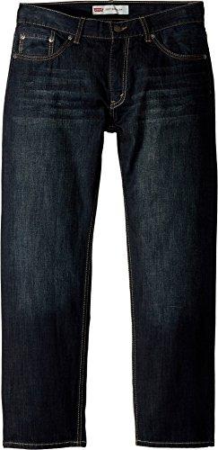 (Levi's Boys' 505 Regular Fit Jeans, Dirt Road, 10 Husky)