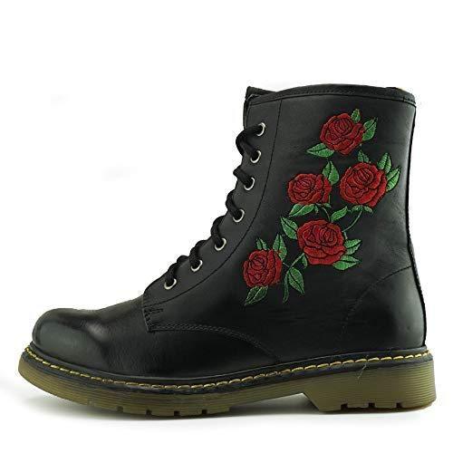 Kick Black Rose Anfibi Footwear Donna FxwTFnUgq