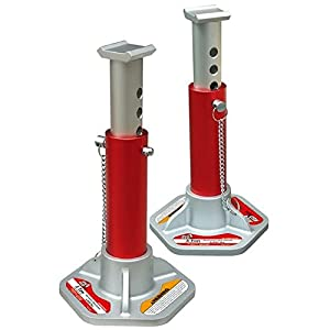 Torin Big Red Aluminum Jack Stands: 3 Ton Capacity, 1 Pair
