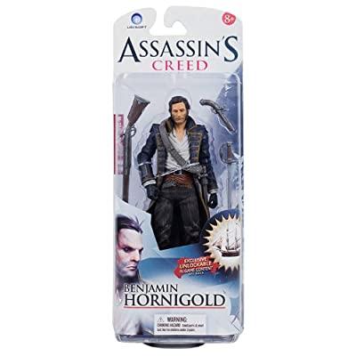 McFarlane Toys Assassin's Creed Series 1- Benjamin Hornigold Action Figure: Toys & Games