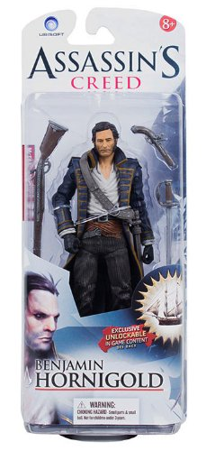 McFarlane Toys Assassin's Creed Series 1- Benjamin Hornigold Action Figure (Best Assassins Creed Game Ever)