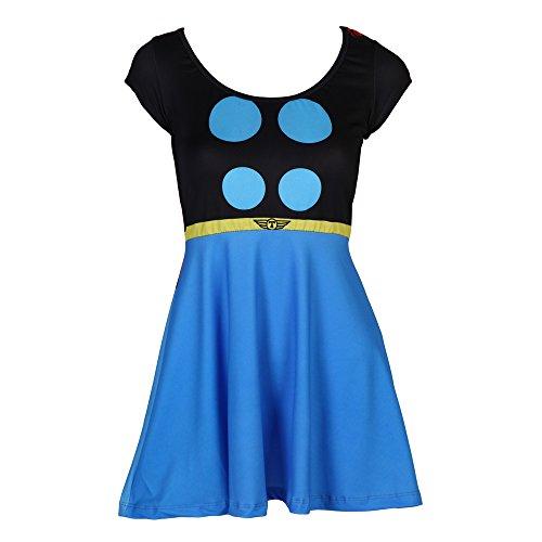 I Am Thor Juniors Skater Dress Small ()
