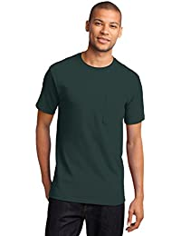 Port & Company Mens Tall Essential T-Shirt with Pocket