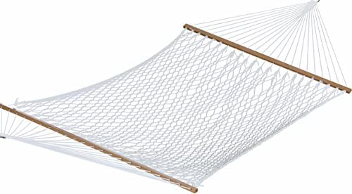 Vivere POLY20 60 Inch Polyester Double Rope Hammock