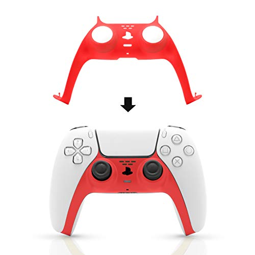 PS5 Controller Plate, PS5 Controller Faceplate Red
