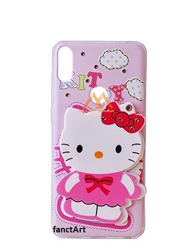 sale retailer 24158 05015 FancyArt 3D Designer Mirror Hello Kitty Mobile Back: Amazon.in ...