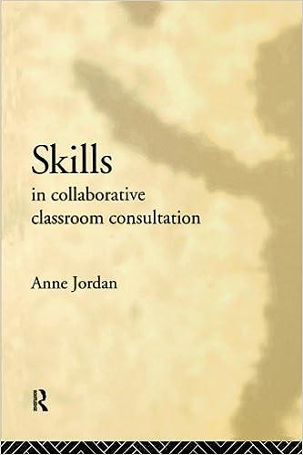 Book Skills in Collaborative Classroom Consultation by Anne Jordan (1994-03-17)