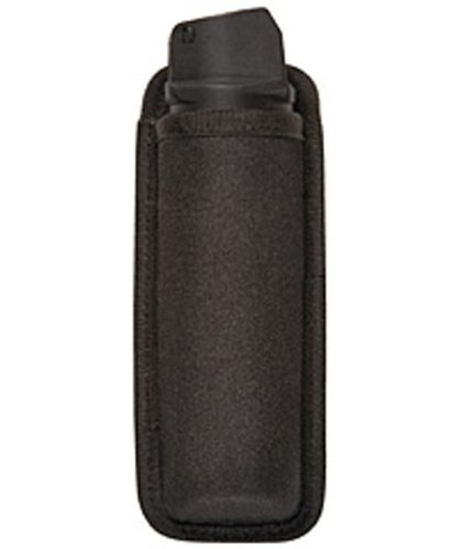 Bianchi Patroltek 8008 Black Open Top OC Spray Canister Pouch (Mk4 Size) (Mace Spray Holder)