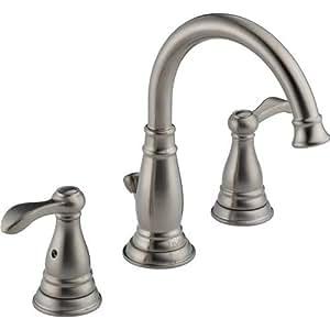 Delta 35984lf bn porter two handle widespread bathroom - Delta bathroom faucets brushed nickel ...
