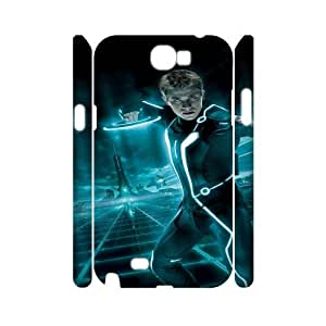 Tron Legacy SANDY0026080 3D Art Print Design Phone Back Case Customized Hard Shell Protection Samsung Galaxy Note 2 N7100