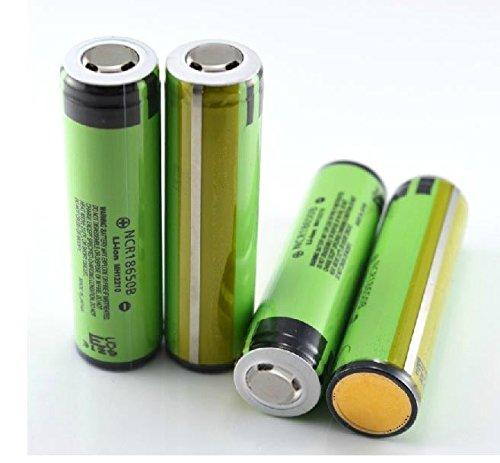 Panasonic NCR18650B Rechargeable Li-ion Battery