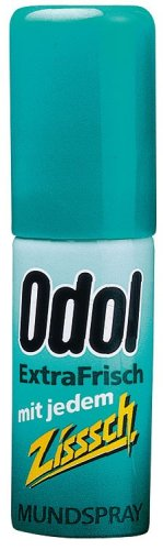 Authentic German Odol Extra Fresh Mouth Spray 15ml