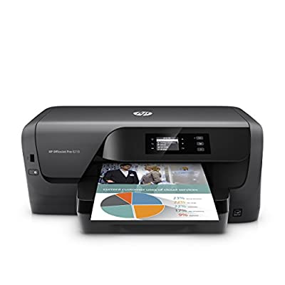 HP OfficeJet Pro 8210 Wireless Color Printer, HP Instant Ink & Amazon Dash Replenishment ready (D9L64A)