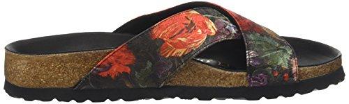 Papillio Damen Daytona Sandalen Mehrfarbig (Multicolore Floral Bouquet)