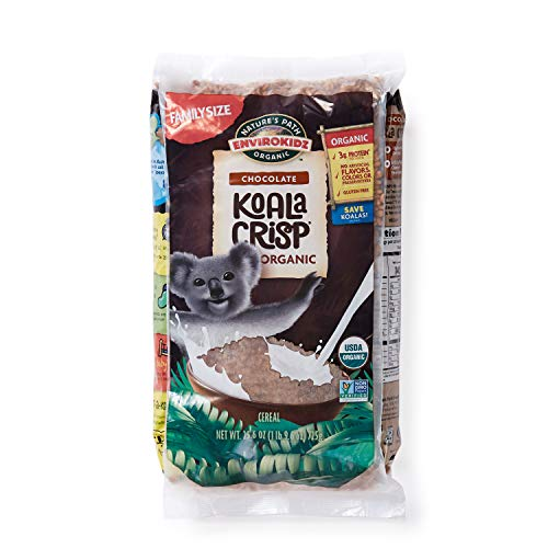 Nature's Path EnviroKidz Koala Crisp Chocolate Cereal, Healthy, Organic, Gluten-Free, 26 Ounce Bag (Pack of 6) ()