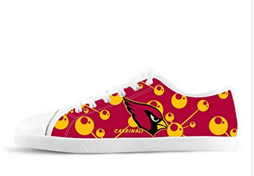 Kardinaler Logo Ladys Nonslip Canvas Skor Kardinaler Canvas Shoes06
