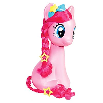 My Little Pony Just Play Pinkie Pie Styling Head: Toys & Games