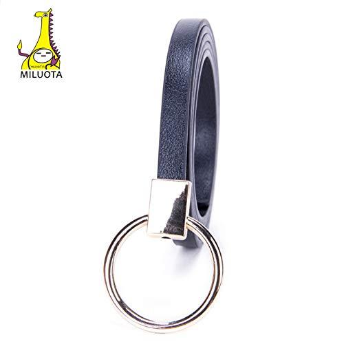 MILUOTA Design The Newest Ceinture Femme Brand Belts for Women Without Pin Buckle PU Leather Belt Women's Waist MU224