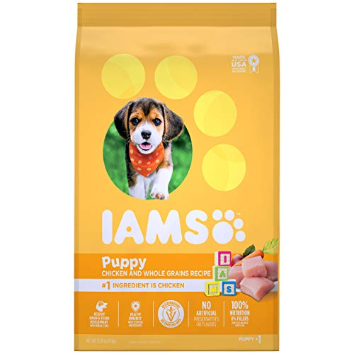 Iams Puppy Dry Dog Food, Chicken, All Breed Sizes