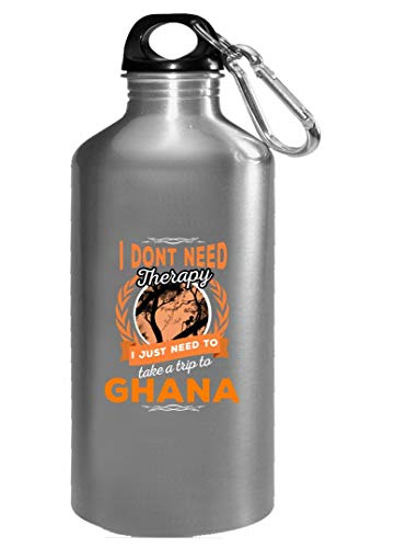 Dont Need Therapy Just Need Ghana Pride Funny - Water Bottle