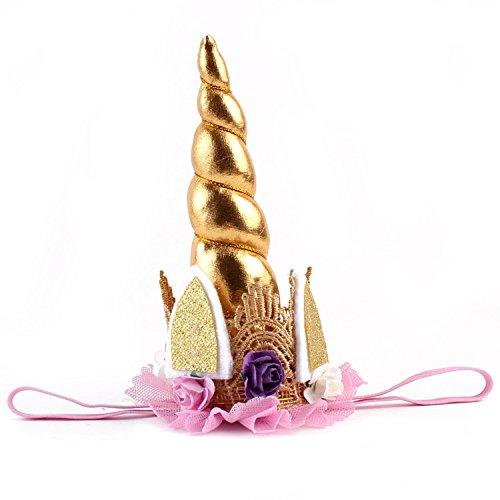 ZMvise Girl Women Unicorn Hairwear Dress Fairy Party Hairband I Am Unicorn Christmas Magical Headband Supplies (Christmas Fairy Dress)
